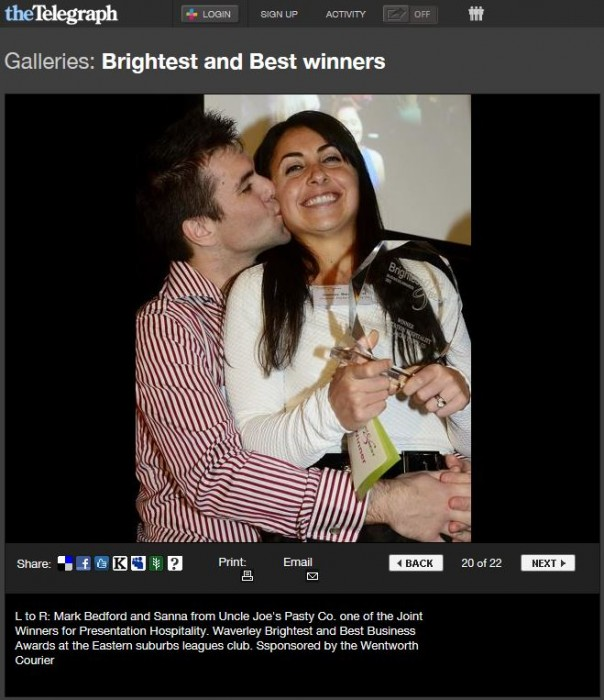 Brightest and Best Winners 2 - The Telegraph