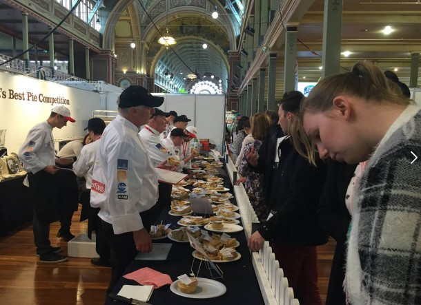 Aussie Pastie Awards judging 2015 in Melbourne